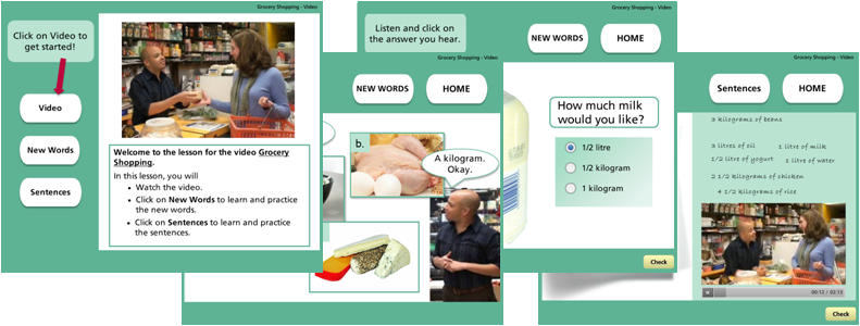 Janiss ESL Home Page ESL Lessons for ISSofBC Students Grocery