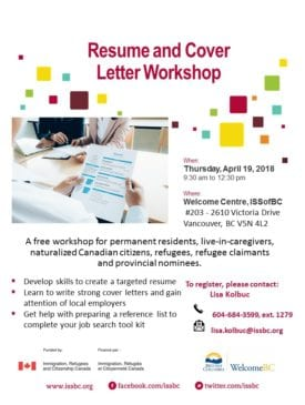 Resume And Cover Letter Workshop Career Development Events