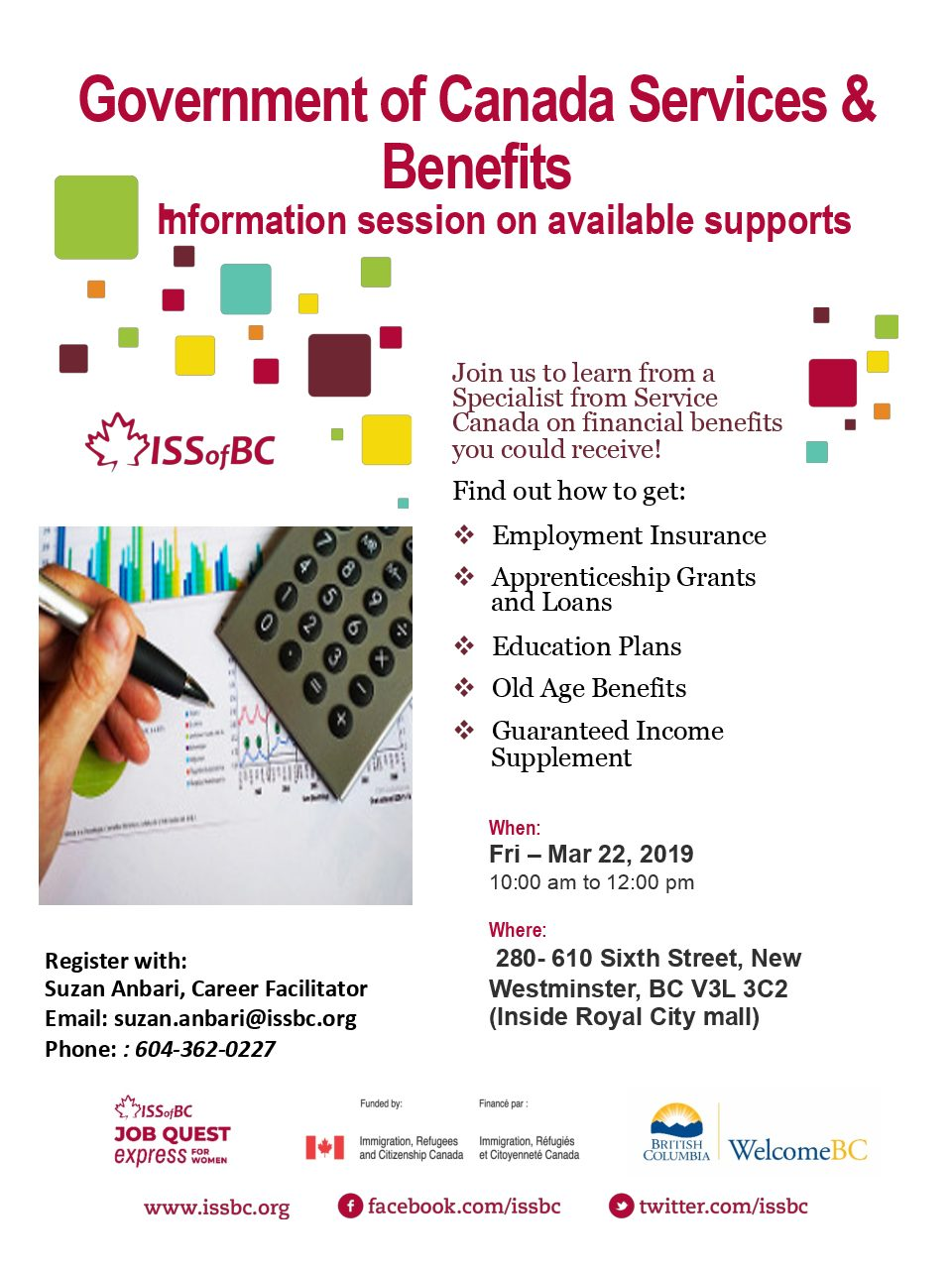 Government of Canada Services & Benefits | Career Development Events
